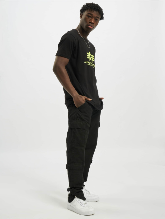 Alpha Industries T-skjorter Basic svart