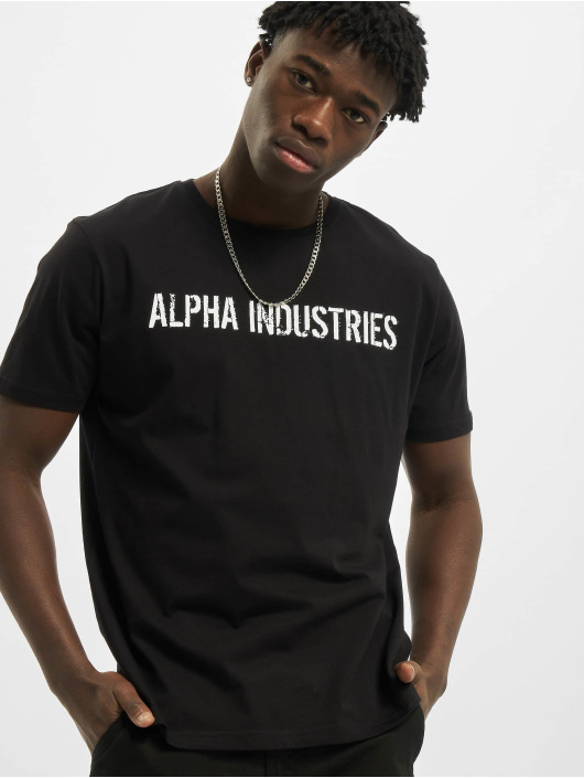 Alpha Industries T-skjorter RBF Moto svart