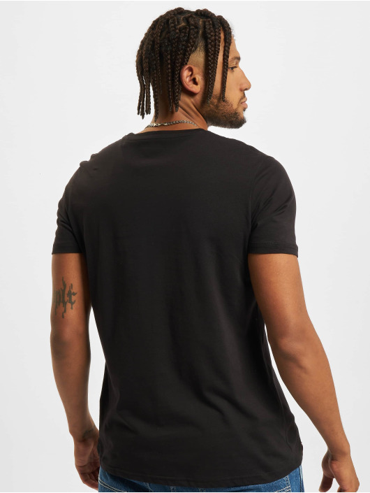 Alpha Industries T-skjorter Fundamental svart