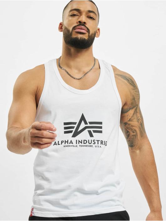 Alpha Industries Tank Tops Basic hvid