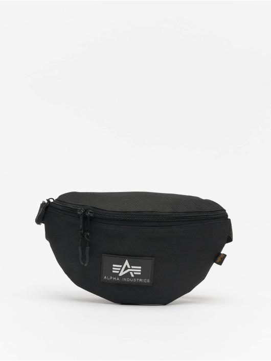 Alpha Industries tas Rubber Print zwart