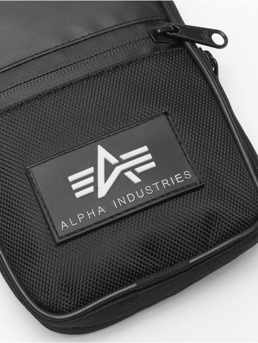 Alpha Industries Torby Rubber Print czarny