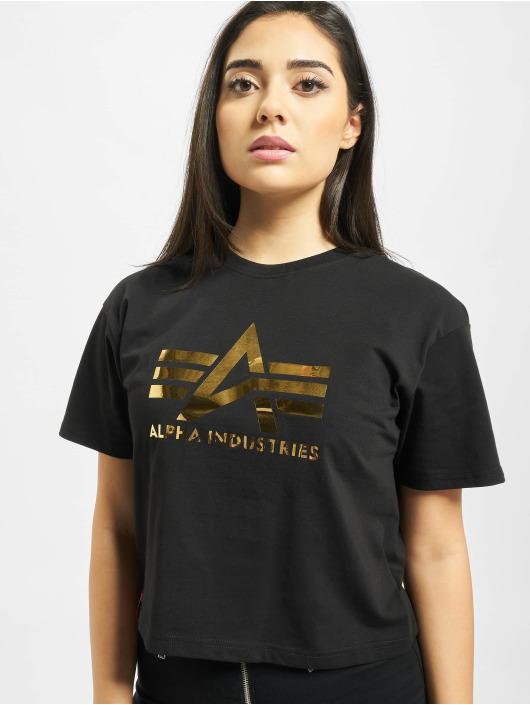 Alpha Industries Tričká Big A T Wmn èierna