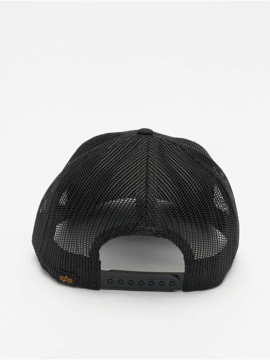 Alpha Industries Trucker Cap Basic black