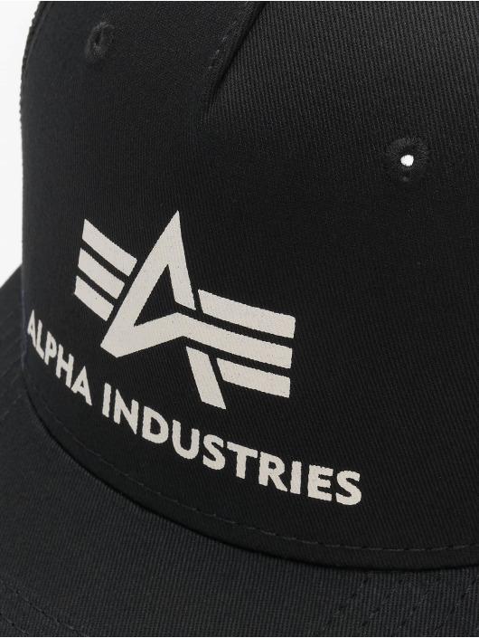 Alpha Industries Trucker Caps Basic czarny
