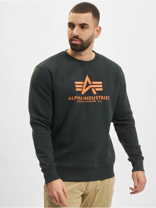Alpha Industries trui Basic groen
