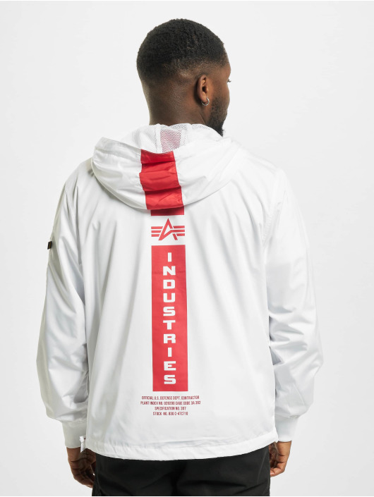 Alpha Industries Übergangsjacke Defense weiß
