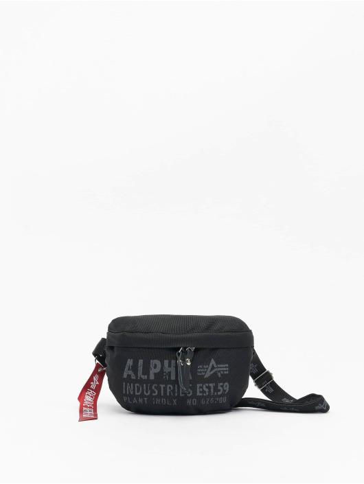 Alpha Industries Vesker Cargo Oxford Waist Bag svart