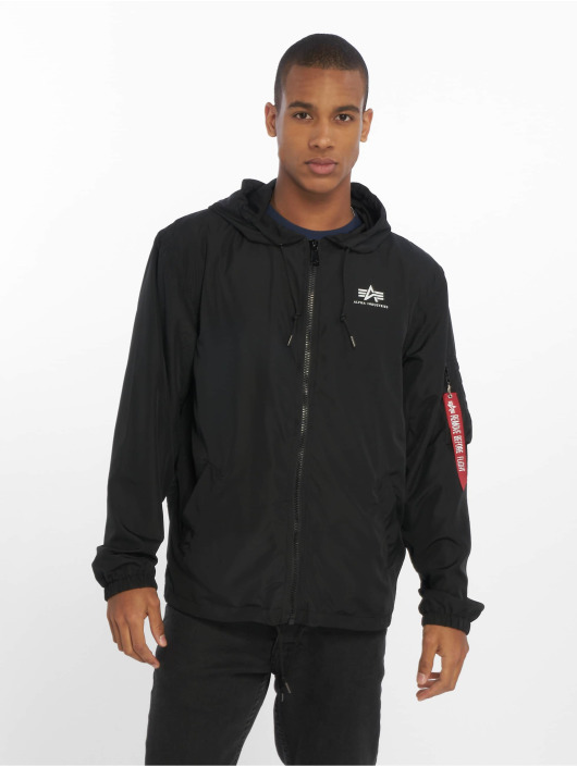 Alpha Industries Veste mi-saison légère Backprint noir