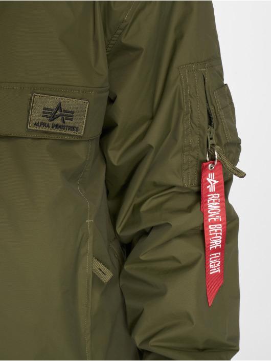 Alpha Industries Veste mi-saison légère WP vert