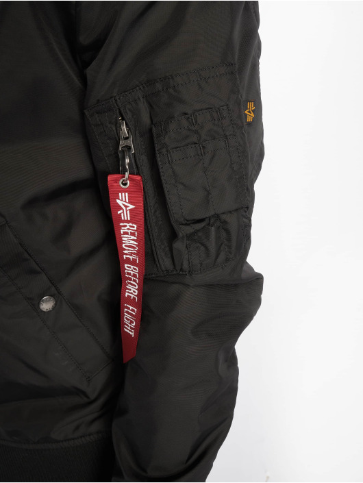 Alpha Industries Winter Jacket MA 1 black