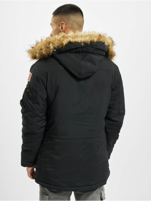 Alpha Industries Winter Jacket Polar black