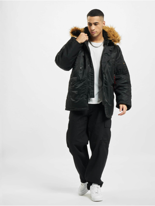 Alpha Industries Winter Jacket N3B black