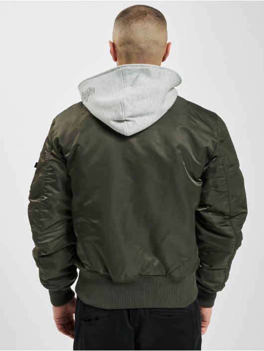 Alpha Industries Winter Jacket MA-1 D-tec Bomber Jacket grey