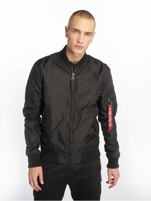 Alpha Industries Winterjacke MA 1 schwarz