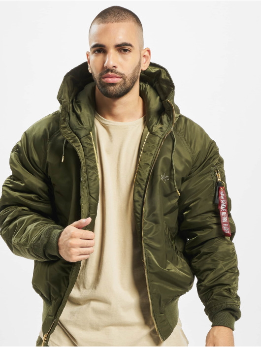 Alpha Industries winterjas N2-B VF PM groen