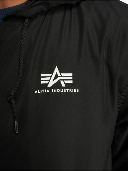 Alpha Industries Zomerjas Backprint zwart