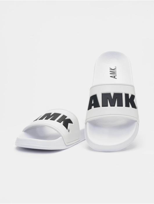 AMK Шлёпанцы Logo белый