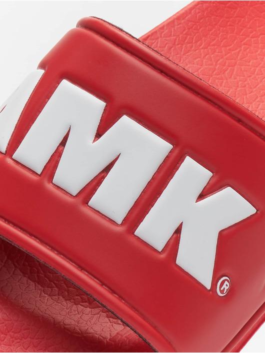 AMK Шлёпанцы Logo красный