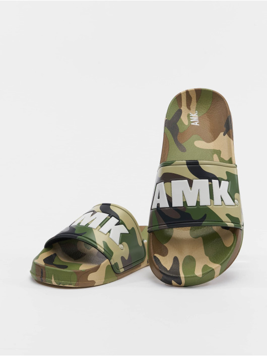 AMK Claquettes & Sandales Soldier camouflage