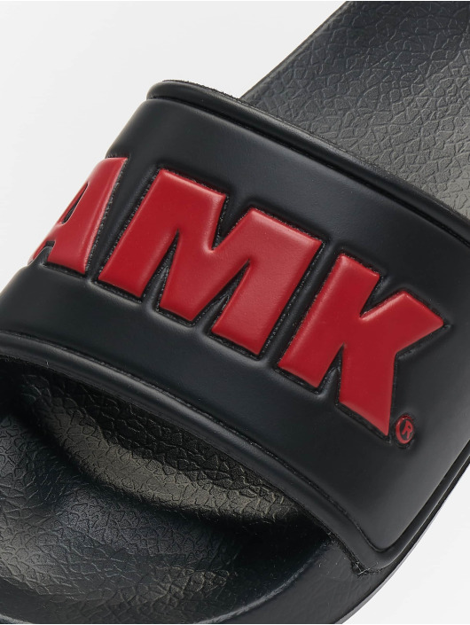 AMK Claquettes & Sandales Logo noir