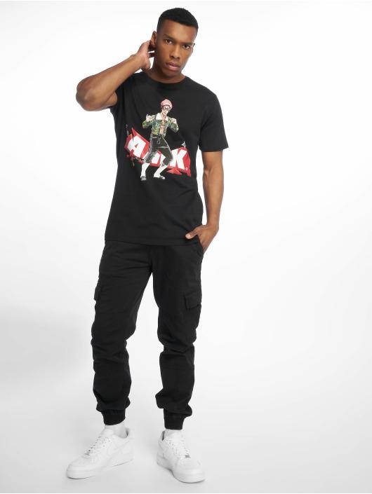 AMK T-Shirt AMK Lee schwarz