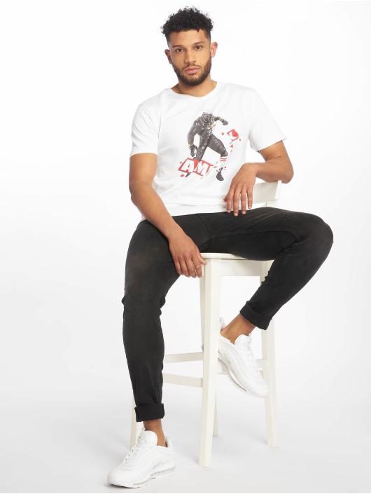 AMK T-Shirty AMK Panther bialy
