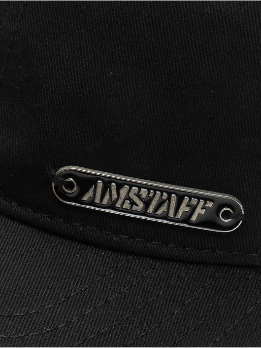 Amstaff Кепка с застёжкой Fino черный