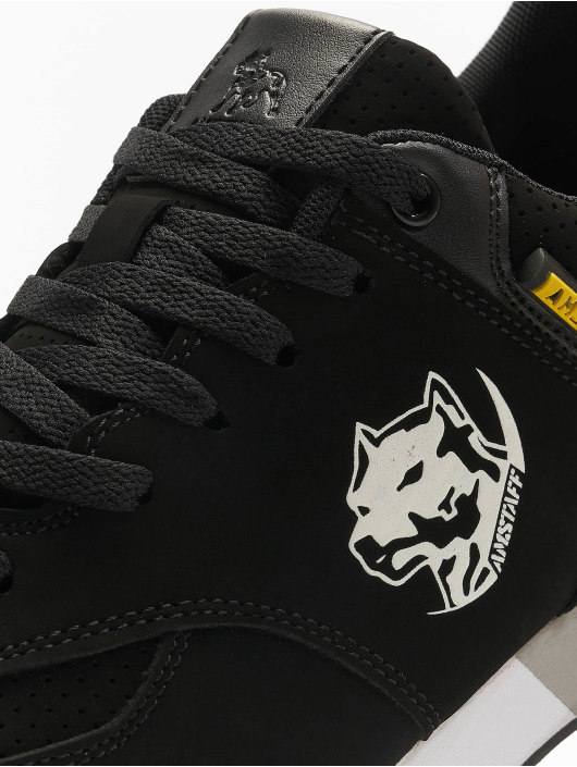 Amstaff Сникеры Running Dog черный