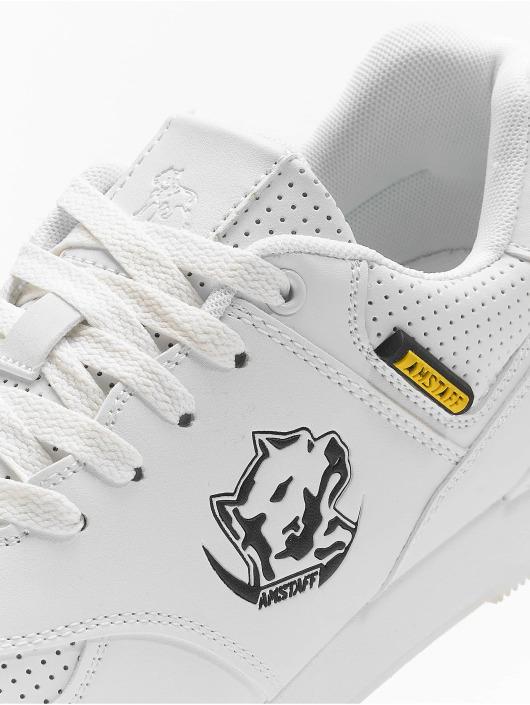 Amstaff Baskets Running Dog blanc