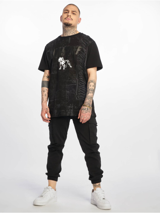 Amstaff Camiseta Frost negro