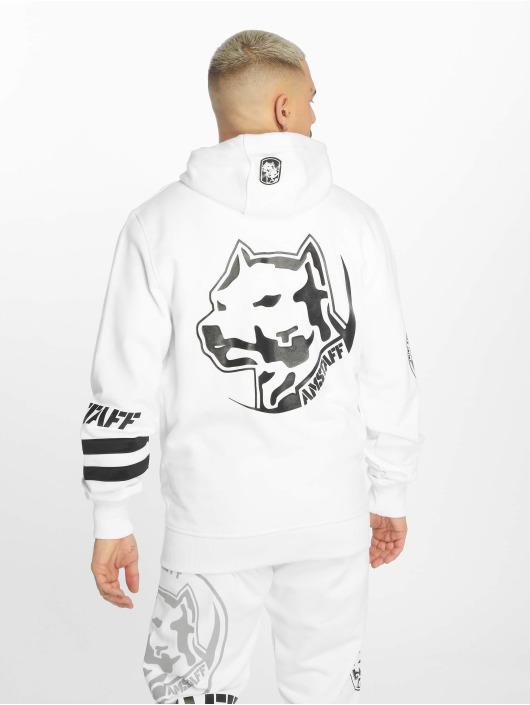 Amstaff Hoodies con zip Okus bianco