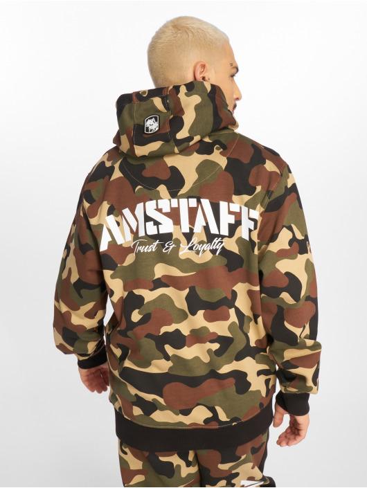 Amstaff Hoodies con zip Tafio mimetico