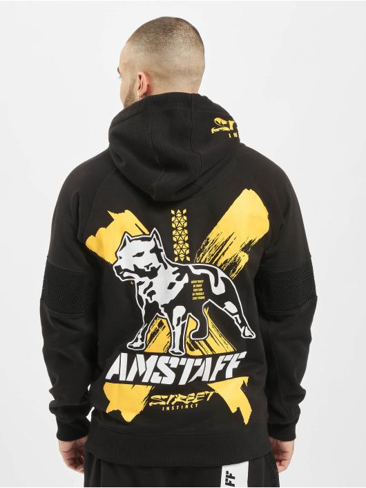 Amstaff Hoodies con zip Orat nero