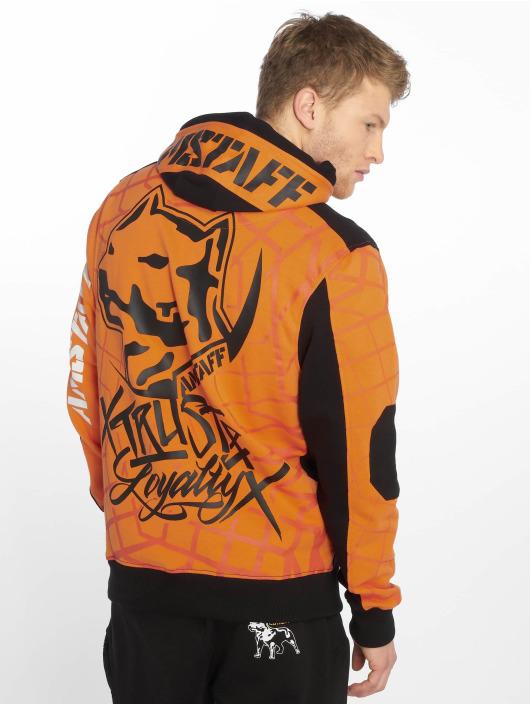 Amstaff Hoody Klixx oranje