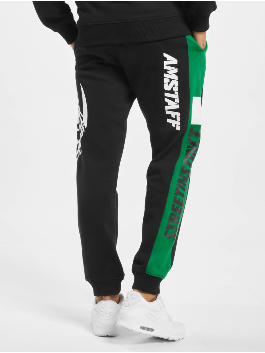 Amstaff Jogging kalhoty Dozer čern