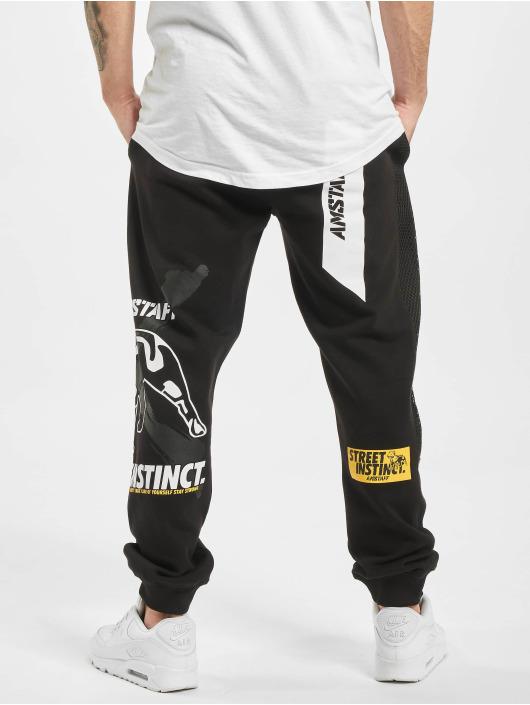 Amstaff Jogging kalhoty Campos čern