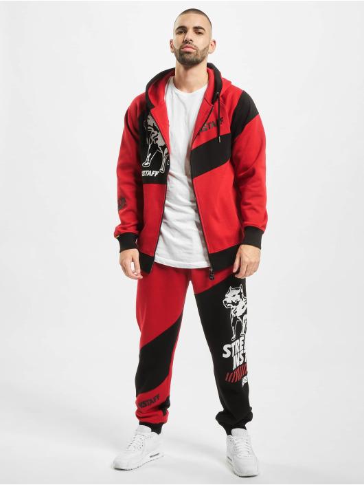 Amstaff Jogging kalhoty Artras červený