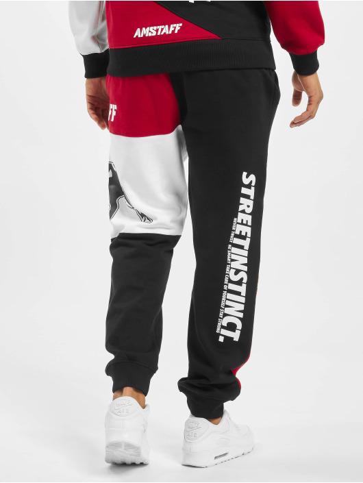 Amstaff Jogging kalhoty AMS1193 červený