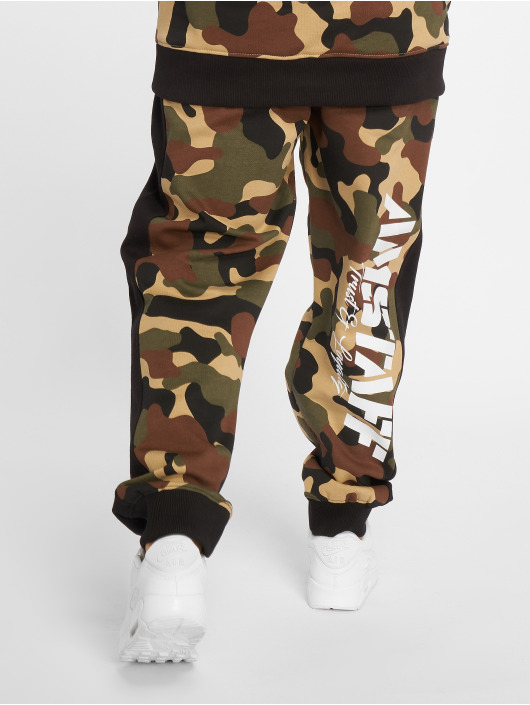 Amstaff Jogging kalhoty Tafio kamufláž