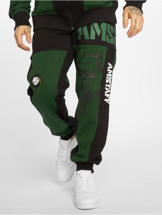 Amstaff Jogging kalhoty Dados zelený