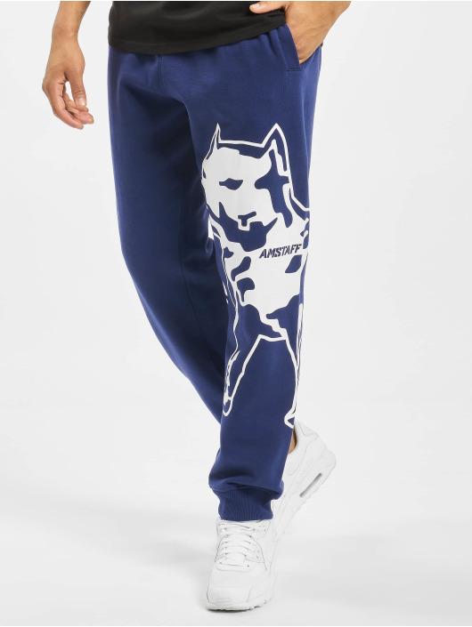Amstaff joggingbroek Fantor blauw