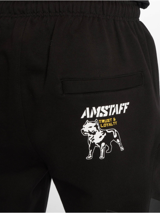 Amstaff joggingbroek Sentoki zwart
