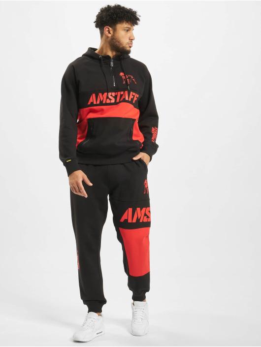Amstaff joggingbroek Jebisu zwart