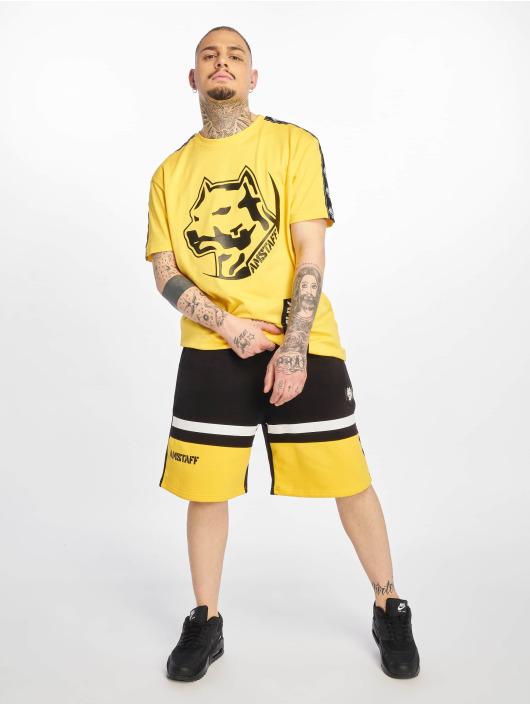Amstaff Pantalón cortos Gaduk negro