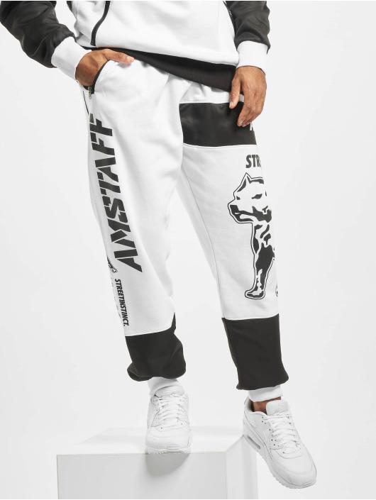 Amstaff Pantalón deportivo Milito blanco