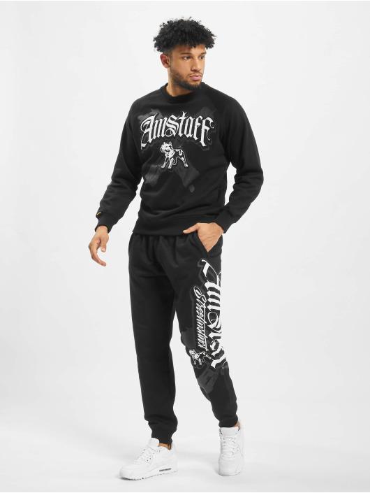 Amstaff Pantalón deportivo Calli negro