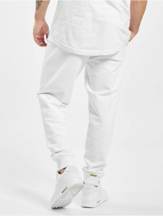 Amstaff Pantalone ginnico Logo 2.0 bianco