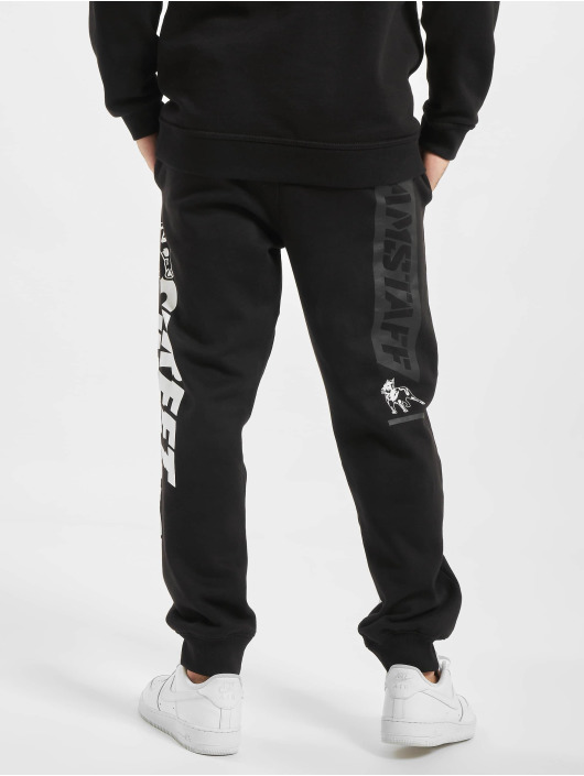 Amstaff Pantalone ginnico Serpe nero