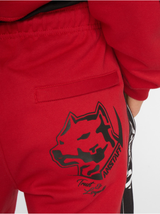 Amstaff Pantalone ginnico Avator rosso